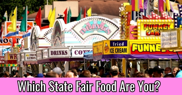 Which State Fair Food Are You?