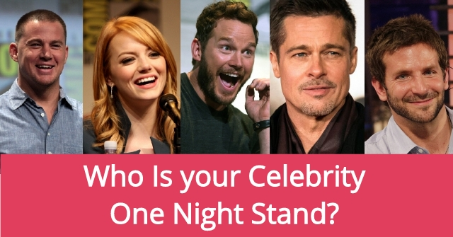 Who Is your Celebrity One Night Stand?