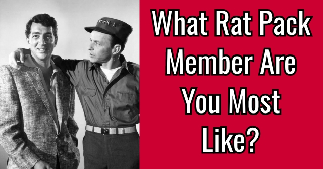 What Rat Pack Member Are You Most Like?