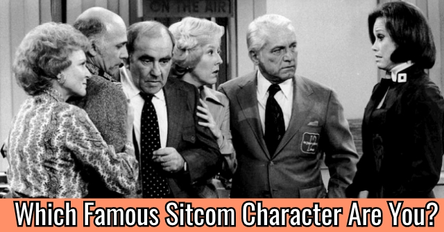 Which Famous Sitcom Character Are You?
