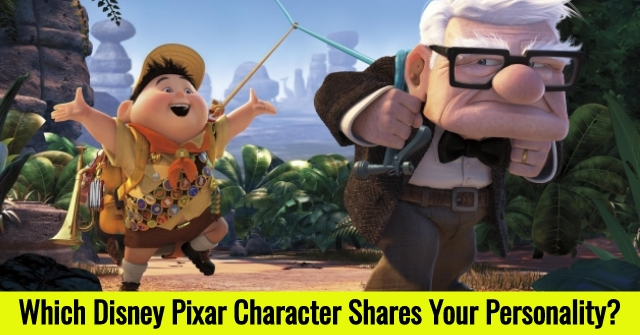 Which Disney Pixar Character Shares Your Personality?