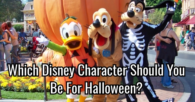 Which Disney Character Should You Be For Halloween?