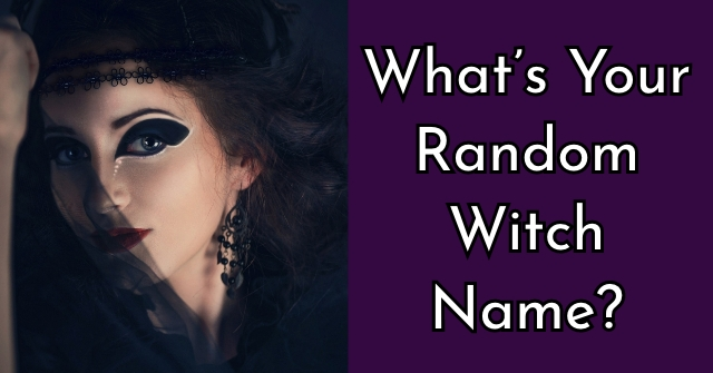 What's Your Random Witch Name?
