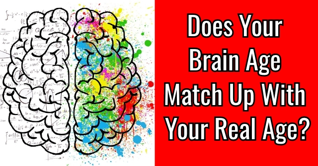 Does Your Brain Age Match Up With Your Real Age?