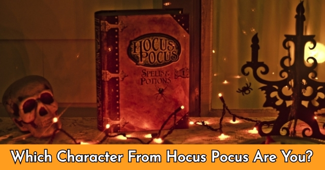 Which Character From Hocus Pocus Are You?