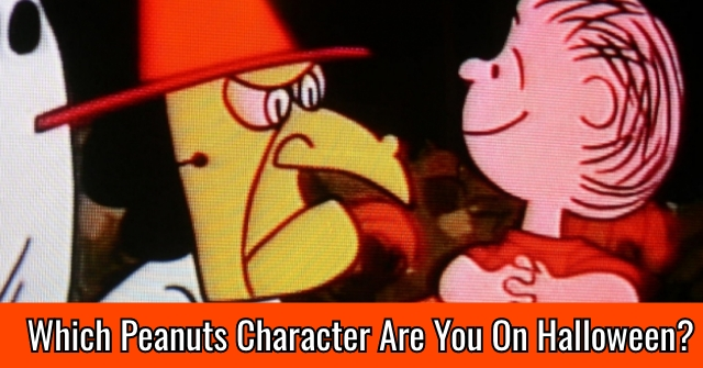 Which Peanuts Character Are You On Halloween?
