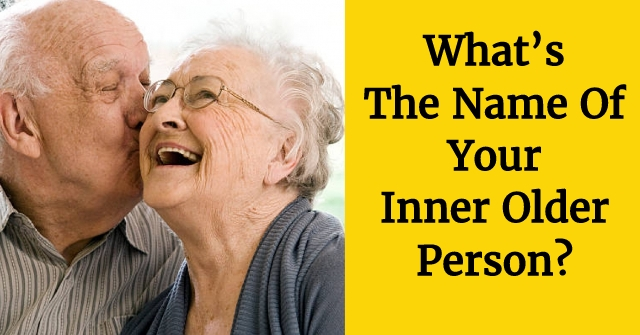 What's The Name Of Your Inner Older Person?