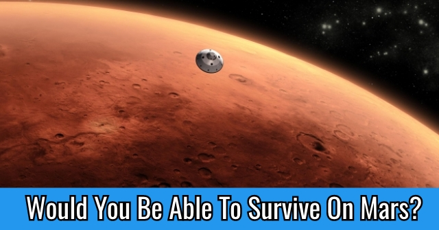 Would You Be Able To Survive On Mars?
