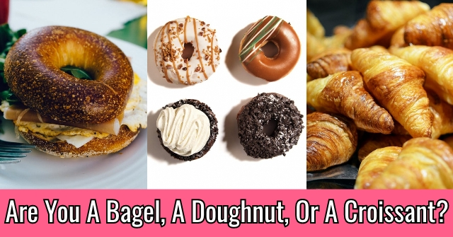 Are You A Bagel, A Doughnut, Or A Croissant?