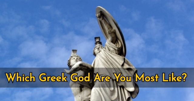 Which Greek God Or Goddess Are You Most Like?