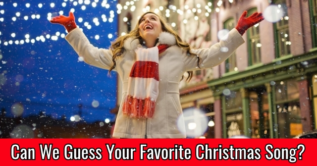 Can We Guess Your Favorite Christmas Song?