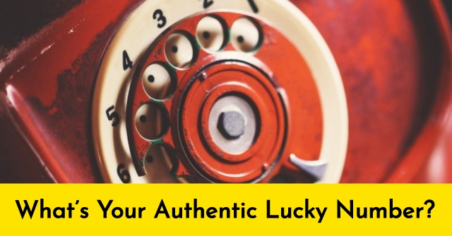 What's Your Authentic Lucky Number?