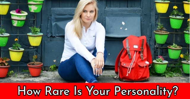How Rare Is Your Personality?