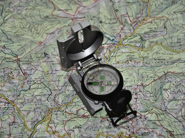 You need to travel north after a big disaster. How do you find your way?