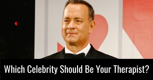 Which Celebrity Should Be Your Therapist?