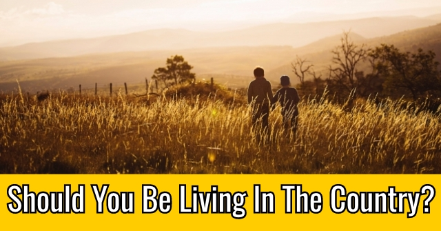 Should You Be Living In The Country?