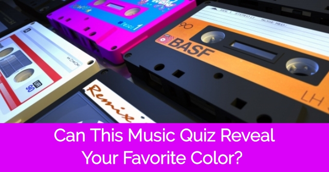 Can This Music Quiz Reveal Your Favorite Color?