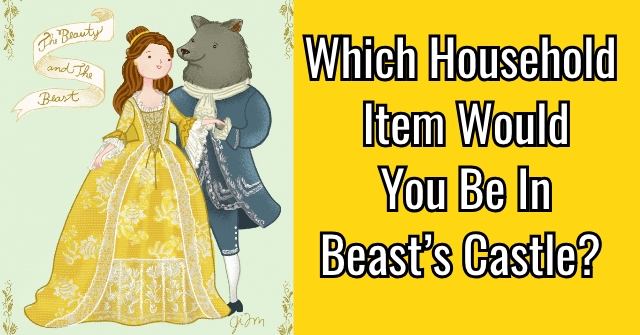 Which Household Item Would You Be In Beast's Castle?