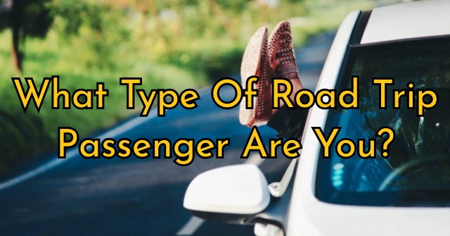 What Type Of Road Trip Passenger Are You?