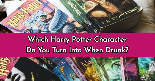 Which Harry Potter Character Do You Turn Into When Drunk?