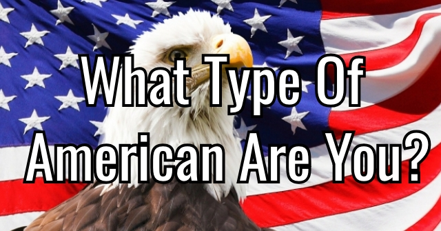 What Type Of American Are You?