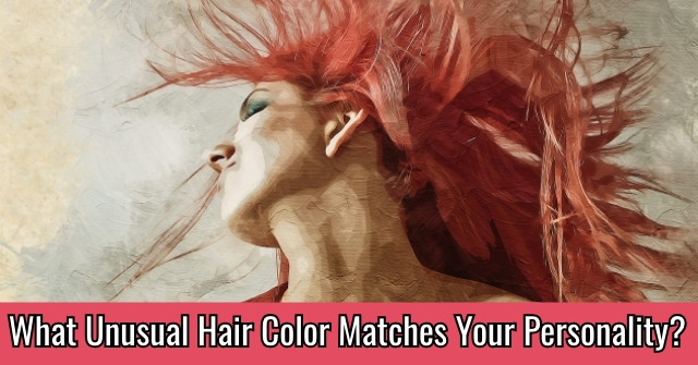 What Unusual Hair Color Matches Your Personality?
