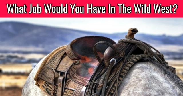 What Job Would You Have In The Wild West?