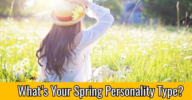What's Your Spring Personality Type?