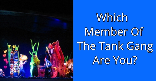 Which Member Of The Tank Gang Are You?