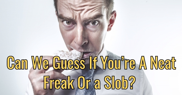 Can We Guess If You're A Neat Freak Or a Slob?