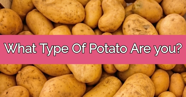 What Type Of Potato Are you?