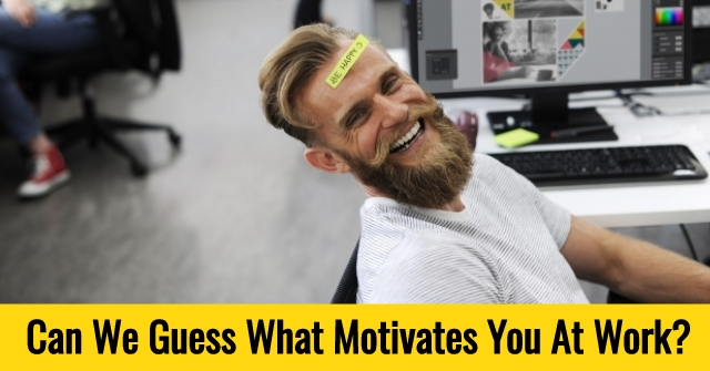 Can We Guess What Motivates You At Work?