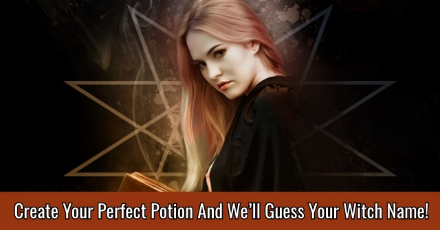 Create Your Perfect Potion And We'll Guess Your Witch Name!